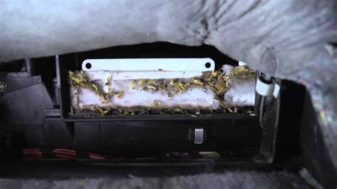 Cabin Air Filter Replacement Mercedes W210 - YouTube