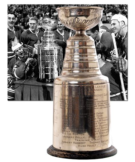 Lot Detail - Toronto Maple Leafs 1963-64 Stanley Cup