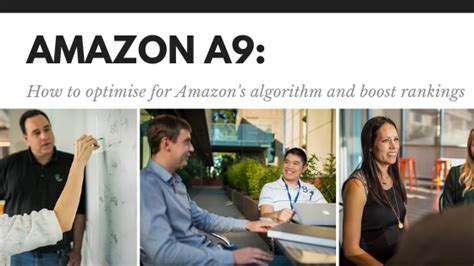 Amazon's A9 Algorithm: How to Optimise For It & What Makes