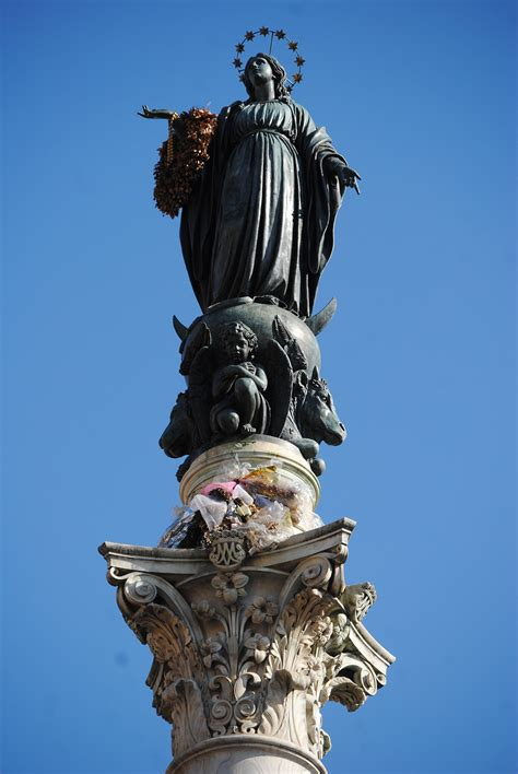 Column of the Immaculate Conception, Rome - Wikipedia