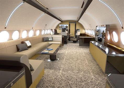 The Interior Design Of Airbus' New Corporate Jet Is Truly