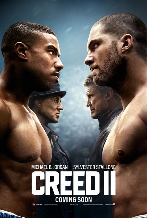 Creed 2 Poster Sees Rocky and Adonis Against the Drago