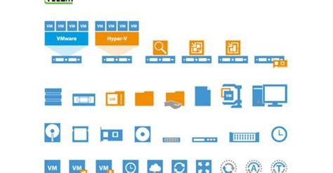 Download Free Visio Stencils for VMware and Hyper-V from