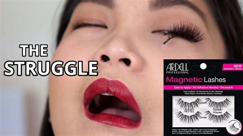 TRY ON ARDELL MAGNETIC LASHES | FULL DAY WEAR TEST