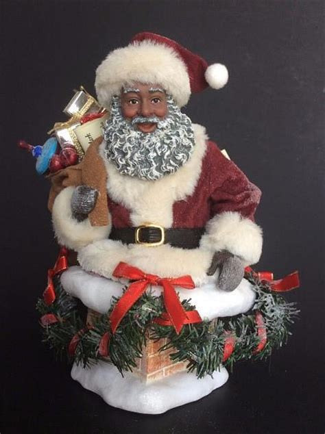 Hurry Down the Chimney - African American Santa Claus – It