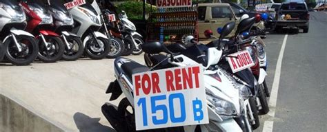 5 Tips for renting a motorbike in Thailand