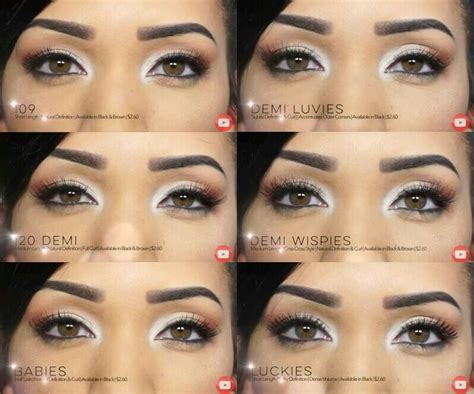 Ardell Lashes: 109, 120, Babies, Demi Luvies, Demi Wispies