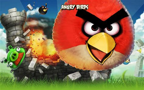 Angry Birds iPhone Game Wallpapers | HD Wallpapers | ID #8888