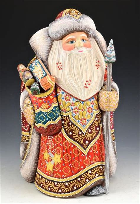 Regal Santa Claus Bearing Gifts - Russian Santa | santas