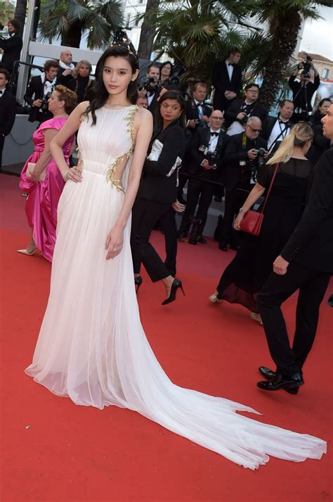"""Ming Xi – """"Sink or Swim"""" Red Carpet in Cannes"""
