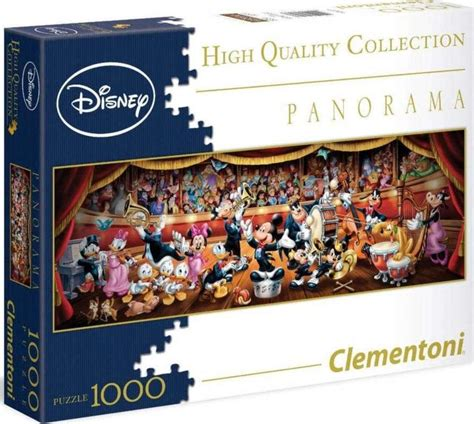 Panoramatické puzzle Disney orchestr
