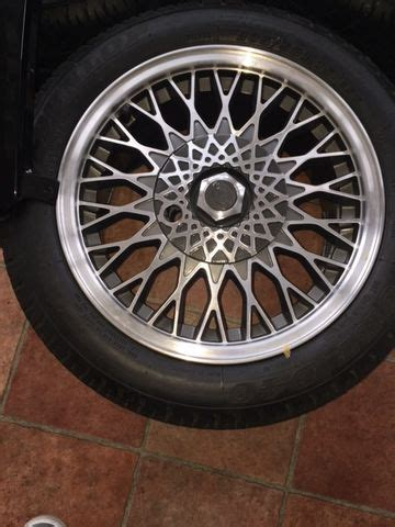 Ford Sierra Cosworth Alloys with Original Dunlop D40 Tyres