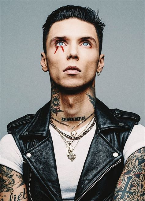 Andy Biersack on in 2020 | Black veil brides,y, Andy black