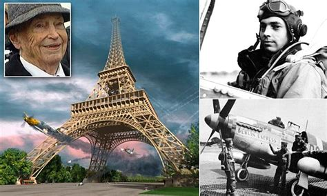 WWII fighter pilot who flew THROUGH the Eiffel Tower dies