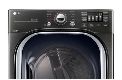 LG DLEX4370K: Ultra Large Smart ThinQ Steam Electric Dryer